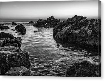 Gray Waters Canvas Print