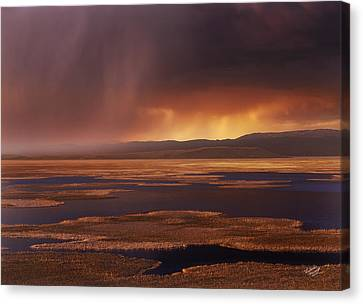 Grays Lake Splendor Canvas Print
