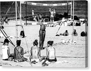 Canvas Print - Great American Volleyball by John Rizzuto