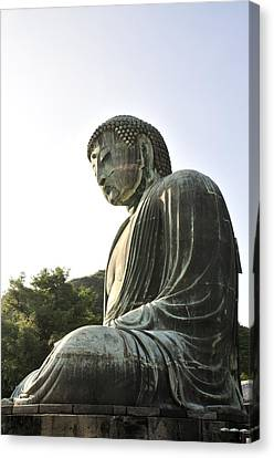 Great Buddha Of Kamakura Canvas Print by Andy Smy