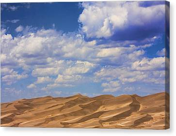 Great Colorado Sand Dunes Mixed View Canvas Print by James BO  Insogna