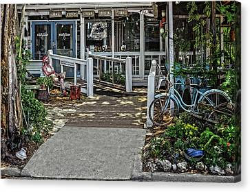 Canvas Print featuring the photograph Great Eats At The Fishing Camp  -  Fishrestaurant120933 by Frank J Benz