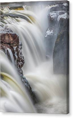 Great Falls Of The Passaic River Canvas Print by Rick Berk