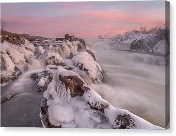 Potomac River Great Falls Virginia Canvas Print