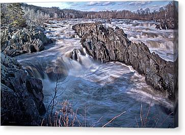 Great Falls Virginia Canvas Print