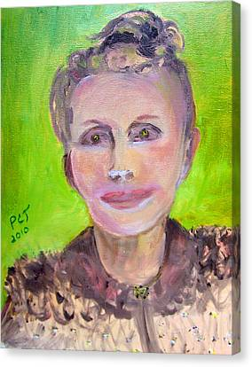 Great Grandmother Adora Canvas Print by Patricia Taylor
