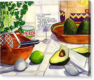 Great Guac. Canvas Print