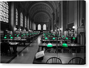 Great Hall Canvas Print by Stephen Flint