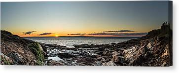 Great Head Beach Sunrise Canvas Print by Brent L Ander