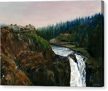 Great Northern Canvas Print by Delaney Davis