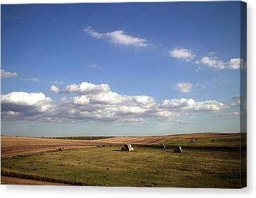 Great Plains Farming 12 Canvas Print by Thomas Woolworth