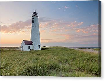 Great Point Lighthouse Sunset Canvas Print