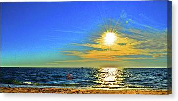 Great Point Nantucket Sound Large Format Canvas Print by Duncan Pearson