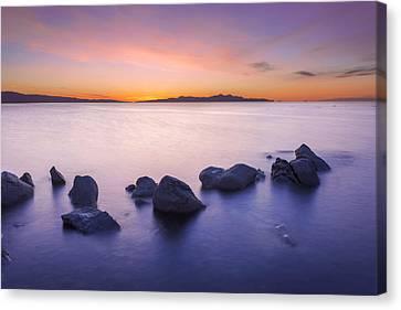 Salt Air Canvas Print - Great Salt Lake by Dustin  LeFevre