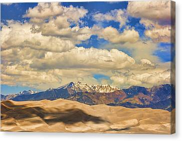 The Lightning Man Canvas Print - Great Sand Dunes National Monument by James BO  Insogna