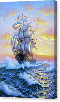 Great Sea Canvas Print