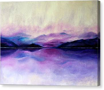 Great Smoky Lakeside Canvas Print