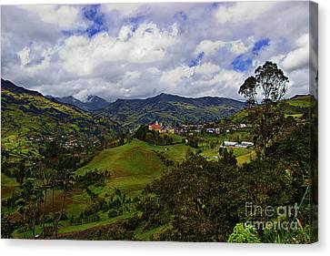 Great View North Of Paute IIi Canvas Print