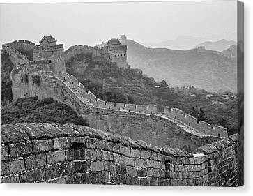 Great Wall 7, Jinshanling, 2016 Canvas Print by Hitendra SINKAR