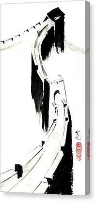 Great Wall Of China Canvas Print by Oiyee At Oystudio