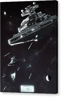 Great, Well I Can Still Outmaneuver Them Canvas Print by Colin Morella