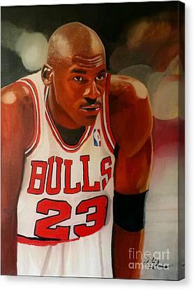Greatness Part1 Canvas Print by Jason Majiq Holmes