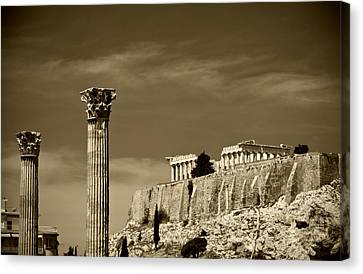 Greece Of Dreams Canvas Print