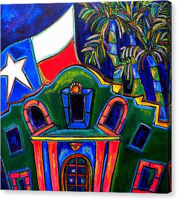 Green Alamo Canvas Print by Patti Schermerhorn