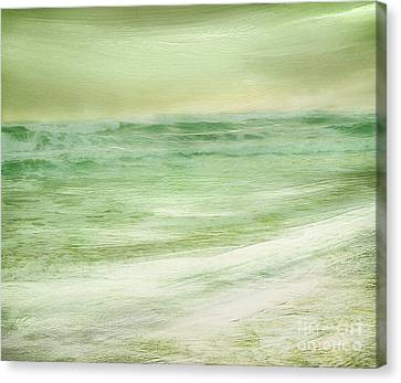 Green And Gold  Canvas Print