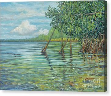 Green Aroma Canvas Print