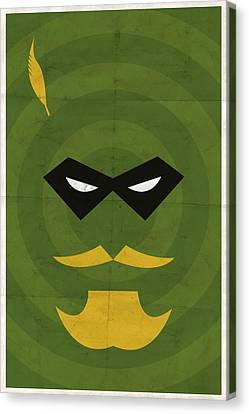 Comic Book Canvas Print - Green Arrow by Michael Myers