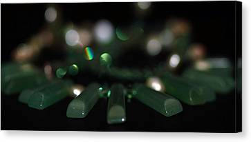 Green Canvas Print by Cherie Duran
