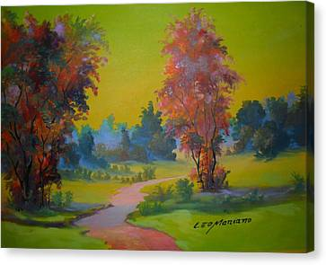 Green Day In Pasargada Canvas Print by Leomariano artist BRASIL