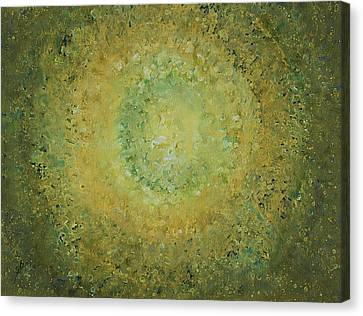 Green Day Original Painting Canvas Print