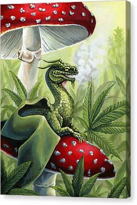 Green Dragon Canvas Print