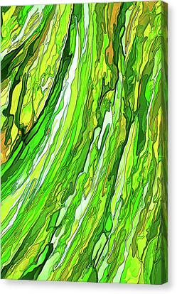 Green Garden Canvas Print by ABeautifulSky Photography