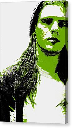 Green Is In Canvas Print