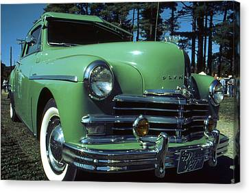 American Limousine 1957 Canvas Print by Art America Gallery Peter Potter