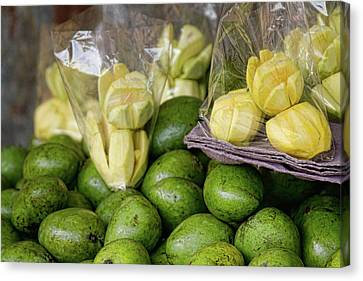 Green Mangoes Canvas Print by James BO  Insogna