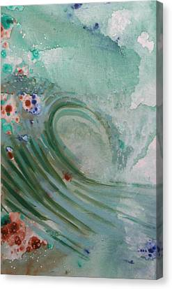Green Mist Canvas Print by Mateo Antonell
