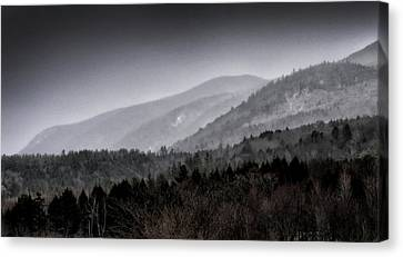 Green Mountains - Vermont Canvas Print by Brendan Reals