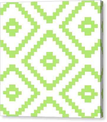 Green Pattern  Canvas Print by Mark Ashkenazi
