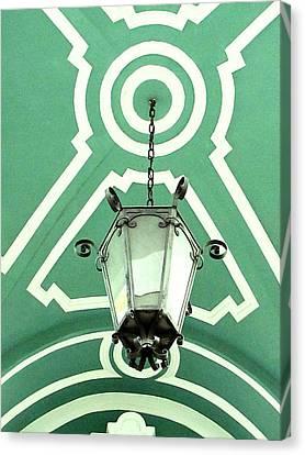 Green Shot Canvas Print by Yury Bashkin