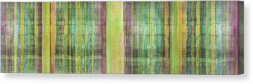 Green Spirit Canvas Print by Ab Stract