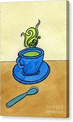 Appleton Canvas Print - Green Tea by Norma Appleton
