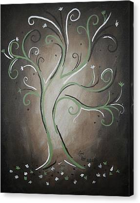 Green Tree Canvas Print