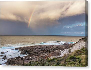 Green Cape Rainbow Canvas Print