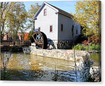 Greenfield Village Stoney Creek Sawmill In Dearborn Michigan Canvas Print by Design Turnpike