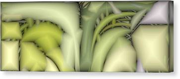 Greens Canvas Print by Ron Bissett