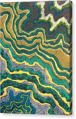 Greenscape C Canvas Print by Jason Messinger